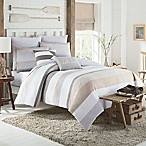 KAS Seneca King Duvet Cover in Taupe
