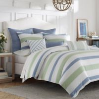 Nautica® Norwich Reversible Twin Duvet Cover Set in Blue