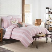 KAS Clifton Full/Queen Duvet Cover in Blush