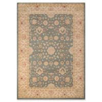Momeni Ziegler Floral 2' x 3' Accent Rug in Blue