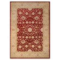 Momeni Ziegler Floral 2' x 3' Accent Rug in Red