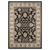 Momeni Royal Baroque 7'10 x 10'10 Area Rug in Charcoal