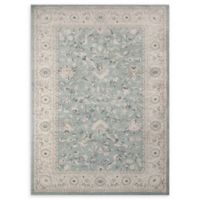Momeni Ziegler Bold Floral 2' x 3' Accent Rug in Blue