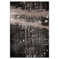 Momeni Monterey Abstract 2' x 3' Accent Rug in Charcoal