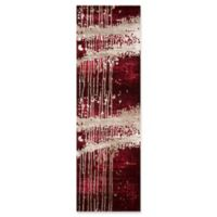 """Momeni Monterey Abstract 2'3"""" x 7'6"""" Runner in Red"""
