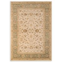 Momeni Ziegler Bold Floral 2' x 3' Accent Rug in Green