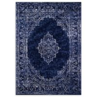 Momeni Monterey Medallion 2' x 3' Accent Rug in Blue
