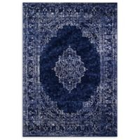 "Momeni Monterey Medallion 8'6""' x 11'6"" Area Rug in Blue"
