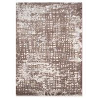 "Momeni Abstract Grid 7'6"" x 9'6"" Area Rug in Beige"
