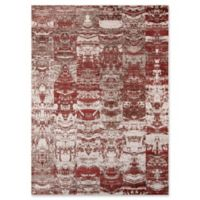 Momeni Rustic Romance 2' x 3' Loomed Accent Rug in Red