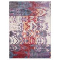 Momeni Rustic Romance 3'3 x 5'1 Distressed Loom Area Rug in Purple