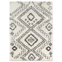 Momeni Maya Tribal Diamond 2' x 3' Accent Rug in Ivory