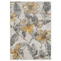 Momeni Luxe 2' x 3' Accent Rug in Grey