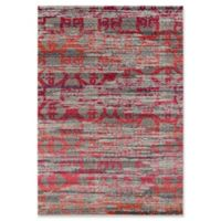 Momeni Casa Flower 2' x 3' Accent Rug in Orange