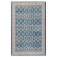 Momeni Kerman Vintage-Inspired 2' x 3' Accent Rug in Blue