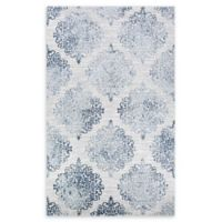 Couristan® Montebello 5'3 x 7'6 Area Rug in Blue/Ivory