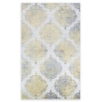 Couristan® Montebello 5'3 x 7'6 Area Rug in Gold