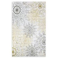 Couristan® Summer Bliss 5'3 x 7'6 Area Rug in Gold
