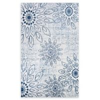 Couristan® Summer Bliss 6'6 x 9'6 Area Rug in Blue/Ivory