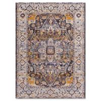 "Dynamic Rugs® Signature Rasht 3'11 x 5'7"" Area Rug in Navy/Multi"