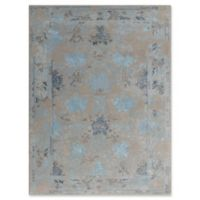 Amer Rugs Artist Modern Iron Hand-Tufted 7'6 x 9'6 Rug in Silver