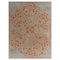 Amer Rugs Artist Modern Hand-Tufted 8' x 11' Rug in Silver/Orange