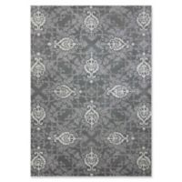 Amer Ascent Modern 7'6 x 9'6 Area Rug in Blue