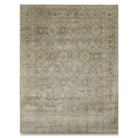 Rugs America Traditional Hand-Knotted 6' x 9' Area Rug in Grey