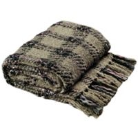 Safavieh Penny Knit Throw Blanket in Rosewood