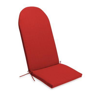 Medford Outdoor Adirondack Chair Cushion In Cherry
