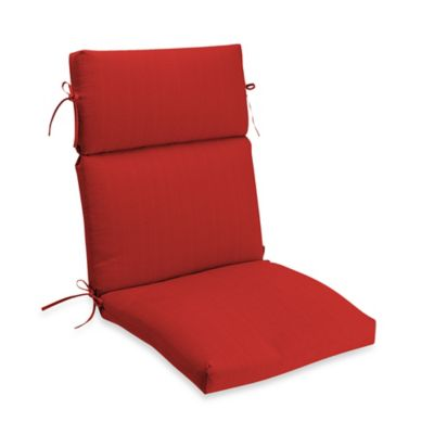 Medford Outdoor High Back Chair Cushion In Cherry