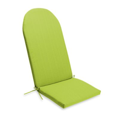 Medford Outdoor Adirondack Chair Cushion In Lime