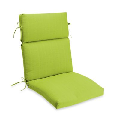 Medford Outdoor High Back Chair Cushion In Lime