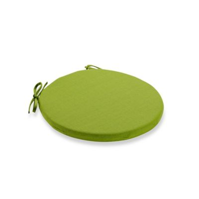 Medford Outdoor Bistro Chair Cushion In Lime