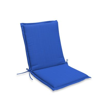 Medford Folding Sling Chair Cushion In Cobalt