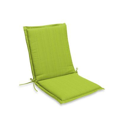 Beau Medford Folding Sling Chair Cushion In Lime
