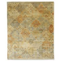 Rugs America Traditional Hand-Knotted Multicolor 6' x 9' Area Rug