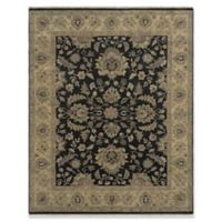 Amer Rugs Antiquity 6' x 9' Area Rug in Ebony