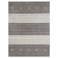 Amer Rugs Blend 4' x 6' Hand-Woven Area Rug in Charcoal