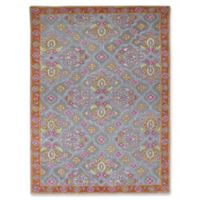 Amer Rugs Bloom 8' x 11' Hand-Tufted Area Rug in Silver