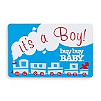 it's a boy  Train Gift Card $25