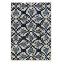 Amer Rugs Bombay Hand-Tufted 3'6 x 5'6 Area Rug in Blue
