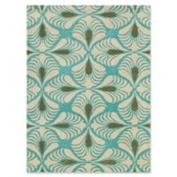 Amer Rugs Bombay Hand-Tufted 7'6 x 9'6 Area Rug in Turquoise