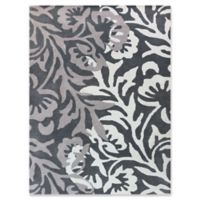 Amer Rugs Bombay 7'6 x 9'6 Hand-Tufted Area Rug in Charcoal