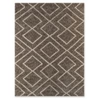 Amer Rugs Bryant 2' x 3' Shag Accent Rug in Beige
