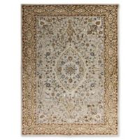 Amer Rugs Eternity Floral Medallion 8' x 11' Area Rug in Ivory
