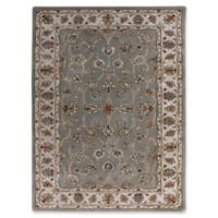 Amer Rugs Eternity Vintage Floral 8' x 11' Area Rug in Silver