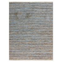 Amer Modern Natural Flat-Weave 2' x 3' Accent Rug in Blue