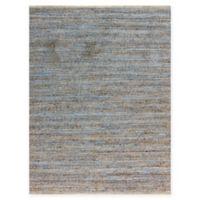 Amer Modern Natural Flat-Weave 3' x 5' Area Rug in Blue