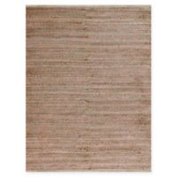 Amer Modern Natural Flat-Weave 3' x 5' Area Rug in Pink